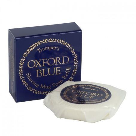 """Recharge de Savon à Barbe """"Oxford Blue"""" - Geo F.Trumper"""