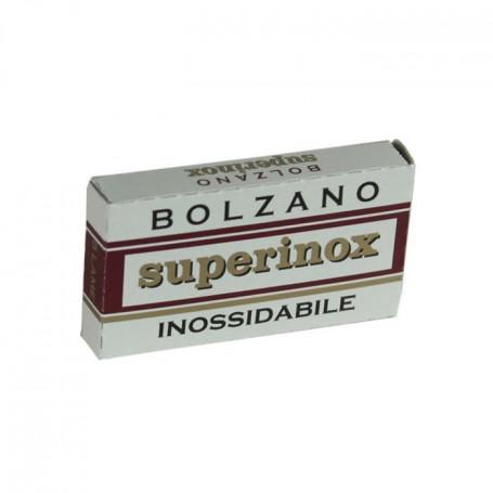 "Lames de Rasoir Bolzano ""SuperInox"" - Pack de 5"