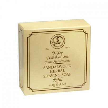 """Recharge de Savon à Barbe """"Sandalwood"""" - Taylor"""