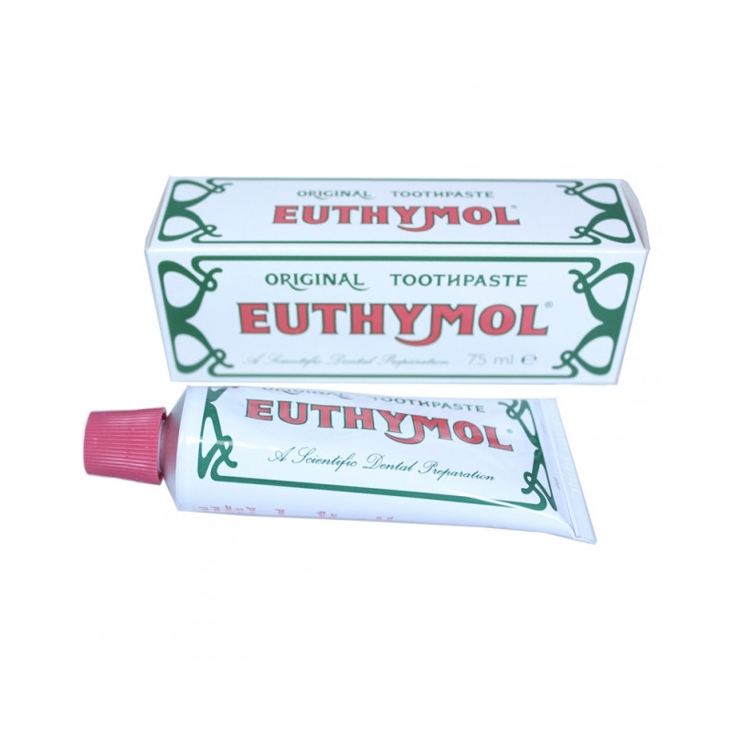 Dentifrice aux Huiles Essentielles Euthymol