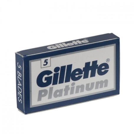 """Paquet de 5 Lames de Sureté Gillette """"Platinum"""""""