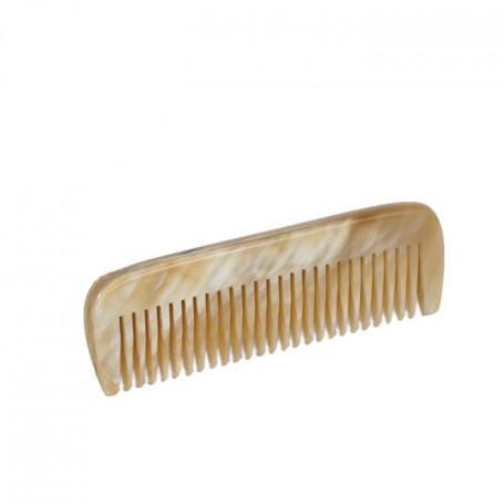 Petit Peigne à Moustache en Corne Blonde - Dr Dittmar