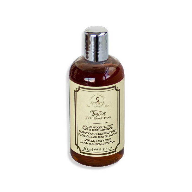 "Shampoing cheveux et corps  Taylor ""Sandalwood"" 200ml"