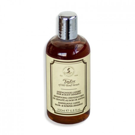 "Shampoing cheveux et corps ""Sandalwood"" 200ml - Taylor"
