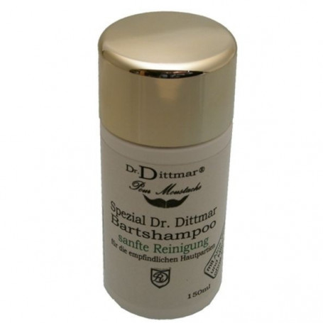 Shampoing Doux Barbe et Moustache - Dr Dittmar