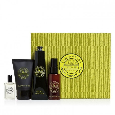 "Coffret Cadeau ""West Indian Limes"" - Crabtree & Evelyn"