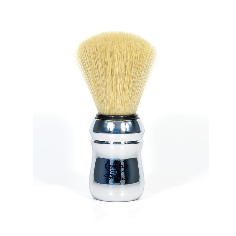 "Blaireau de Rasage Chromé Synthétique ""S-Brush"" - Omega"