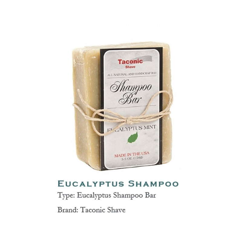 "Shampoing Solide ""Eucalyptus Mint"" - Taconic"