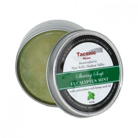 "Savon à Barbe ""Eucalyptus Mint"" - Taconic"