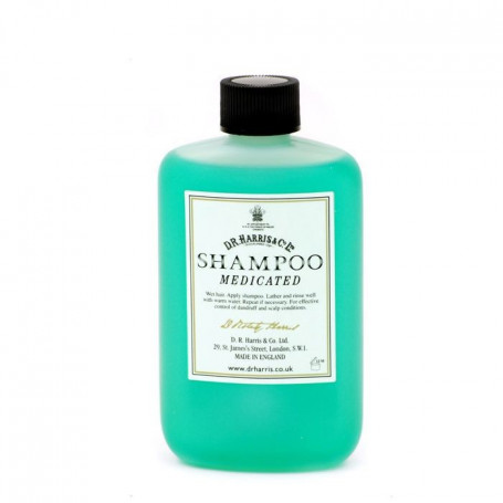 "Shampoing homme ""Medicated"" non irritant DR Harris 100ml"