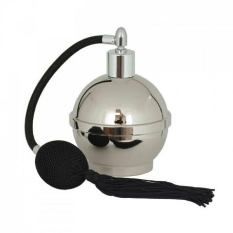 Flacon Atomiseur Vide en Métal avec Poire - 125ml