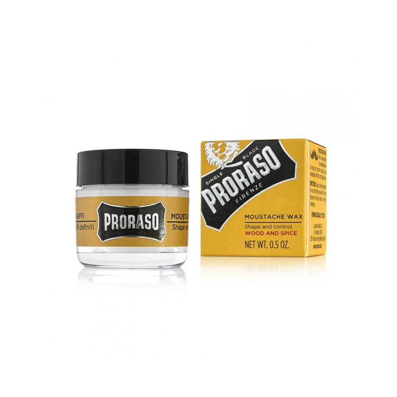 Cire à Moustache 15ml en Pot - Proraso