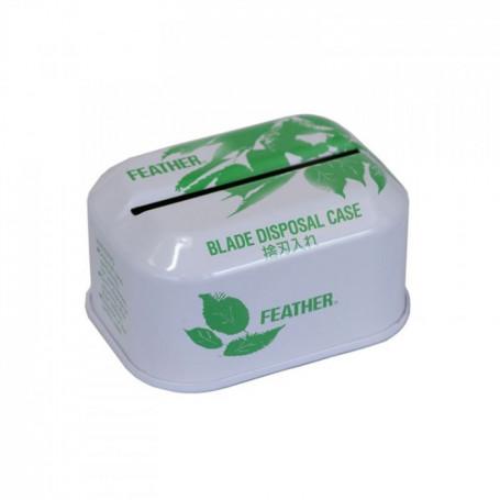 Boite pour Lames Usagées - Feather
