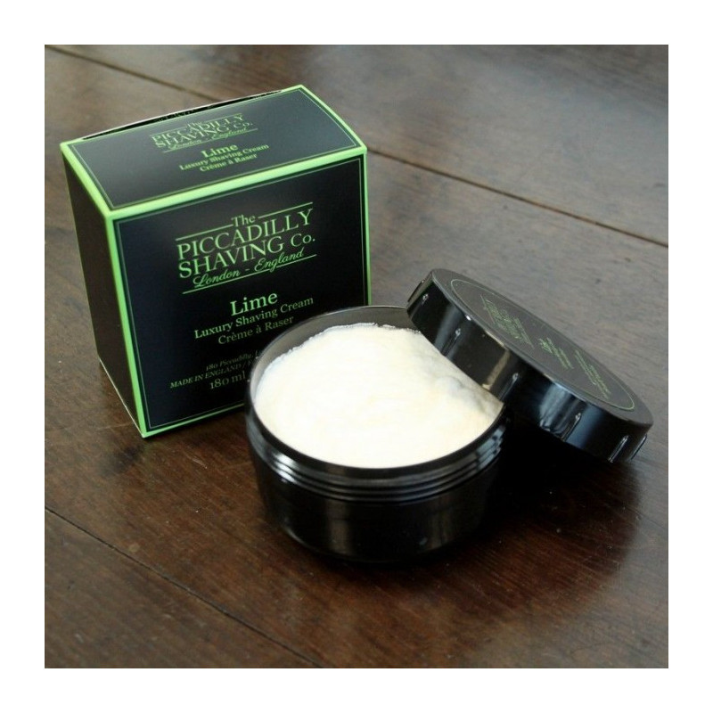 "Crème à Raser ""Lime"" - Piccadilly Shaving Co"