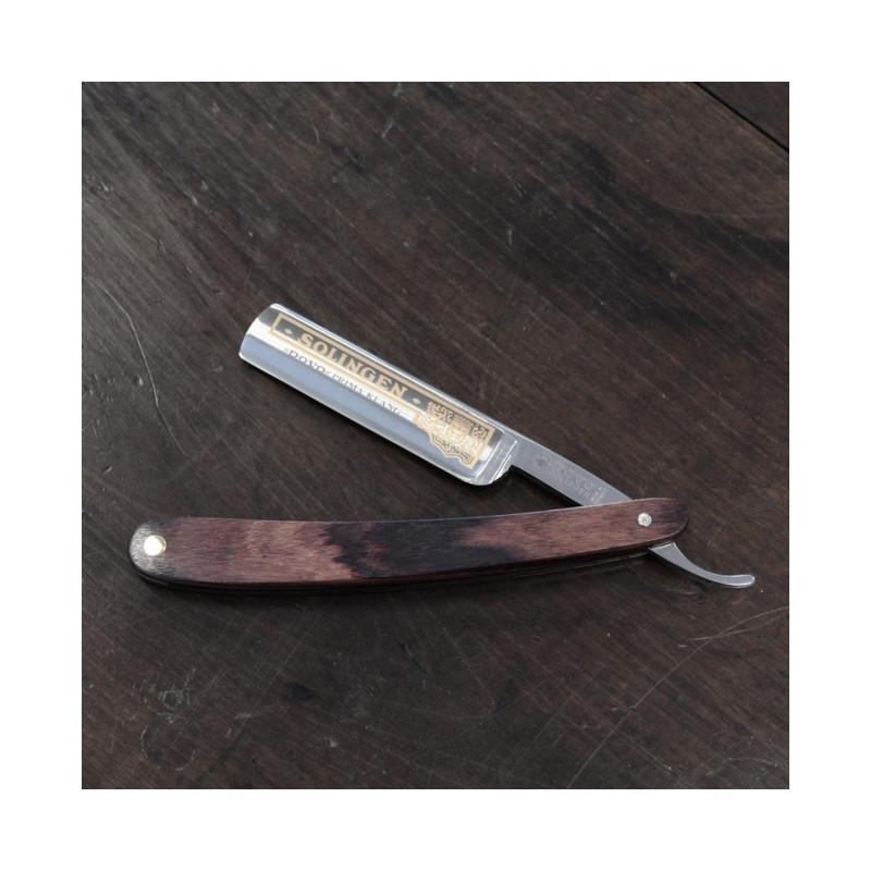 rasoir droit coupe choux dovo solinger manche en bois de violette. Black Bedroom Furniture Sets. Home Design Ideas