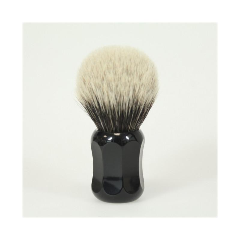 Où acheter Simpson Chubby Blaireau-de-rasage-pur-argente-noir-xl-deux-bandes-thater-ig-5734