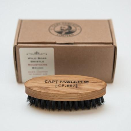 Brosse à Moustache en Bois CF.957 - Captain Fawcett