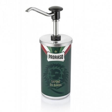 Dispenseur de Crème de Rasage pour Barbier - Proraso