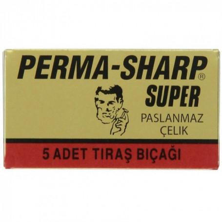 """Lames de Rasoir """"Perma-Sharp Super"""" - Pack de 5"""