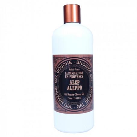 Gel Douche Bio au savon d'Alep - Manufacture en Provence