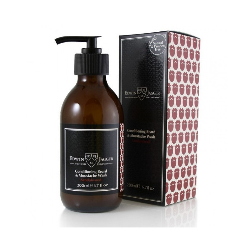 "Shampoing à Barbe ""Sandalwood"" Edwin Jagger"