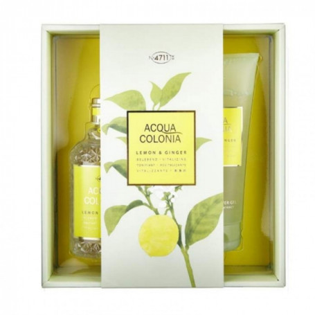 Coffret Cadeau Acqua Colonia 4711 Lemon & Ginger