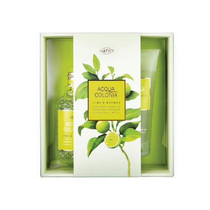 Coffret Cadeau Acqua Colonia 4711 Lime & Nutmeg
