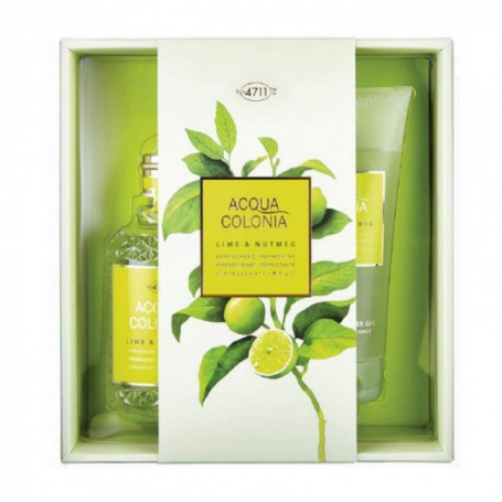 Coffret Cadeau Acqua Colonia Lime & Nutmeg - 4711