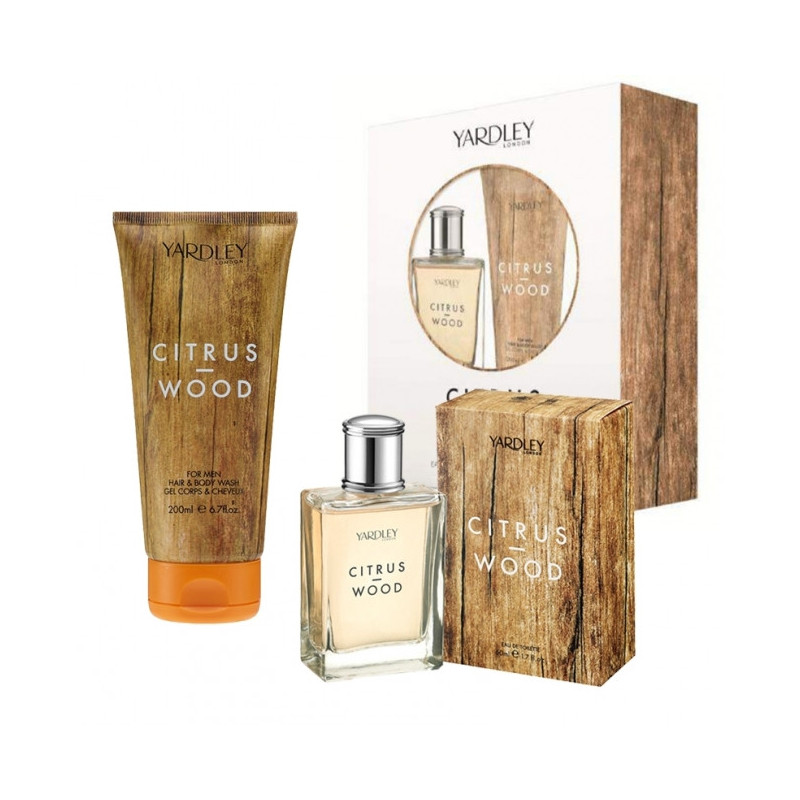 "Coffret Cadeau ""Citrus Wood"" - Yardley"