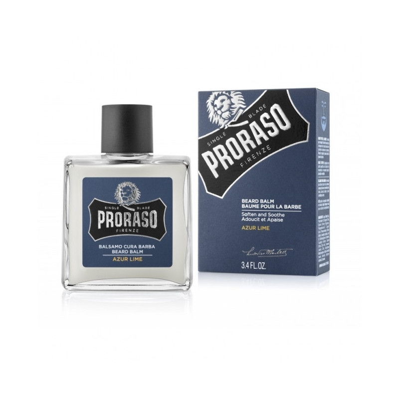 "Baume Hydratant pour Barbe ""Azur Lime"" - Proraso"