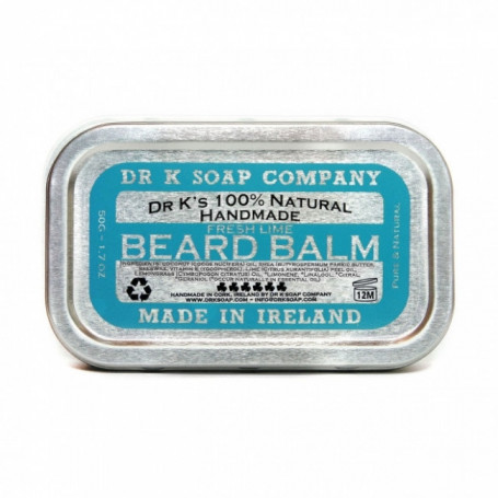 "Baume à Barbe Naturel ""Fresh Lime"" - Dr K Soap Co"