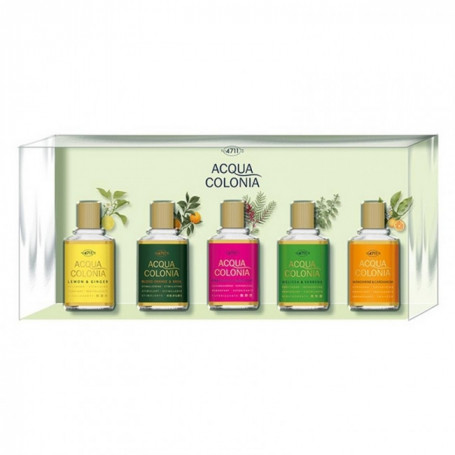 "Coffret 5 Mini-Eaux de Cologne ""Acqua Colonia"" - 4711"
