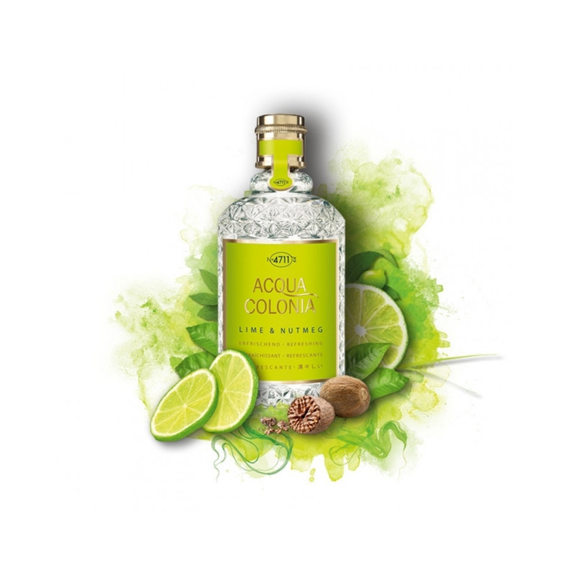 "Eau de Cologne Acqua Colonia ""Lime & Nutmeg"" - 4711"