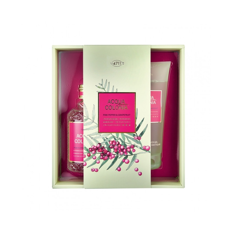 Coffret Cadeau Acqua Colonia 4711 Pink Pepper & Grapefruit
