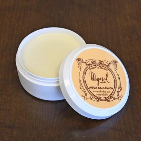 "Crème de rasage à la Lanoline ""Agua Balsamica"" - Myrsol"