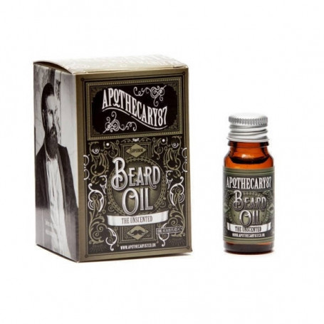 """Huile à Barbe """"The Unscented"""" - Apothecary 87"""