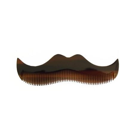 Petit peigne à Moustache façon Écaille- Morgan's