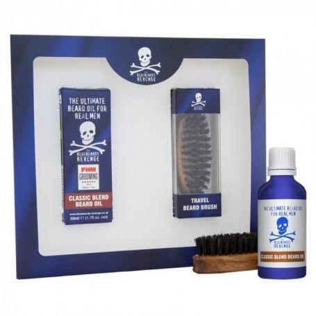 Coffret Cadeau de Soins Barbe et Moustache - Bluebeards Revenge