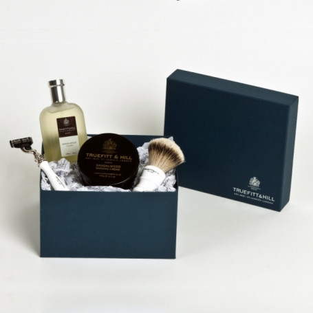 Coffret de rasage Sandalwood Luxury - Truefitt & Hill