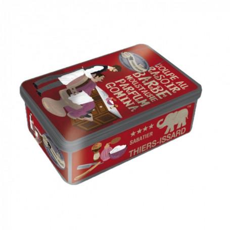 Boîte en métal pour coffret cadeau - Thiers Issard