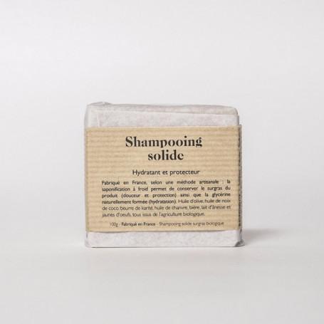 Shampooing Solide Hydratant et Protecteur - Végétalement Provence