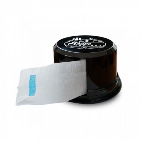 Dérouleur vide pour rouleau de papier tour de cou