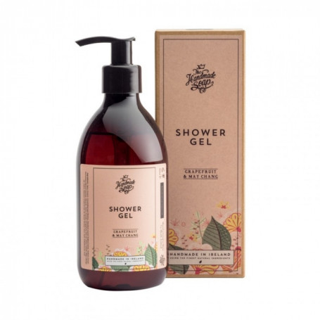 Gel Douche Grapefruit et May Chang - The Handmade Soap Co.
