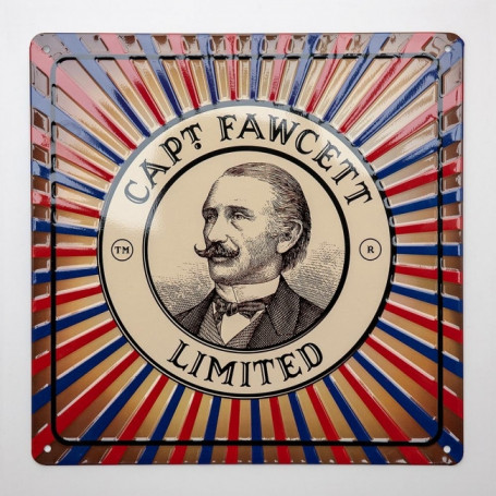 Plaque émaillée - Captain Fawcett
