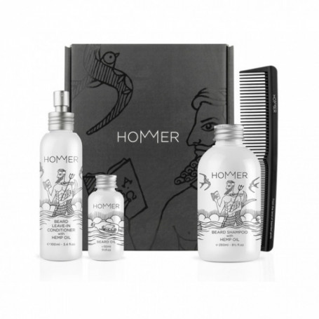 Coffret Cadeau pour la Barbe 3 - Hommer