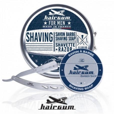 Coffret cadeau de rasage - Hairgum