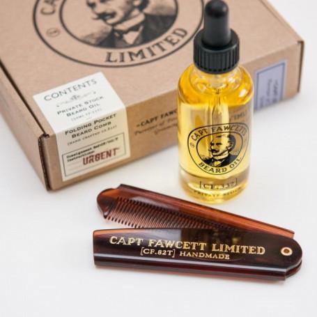 """Coffret Cadeau du Barbu """"Private Stock"""" - Captain Fawcett"""