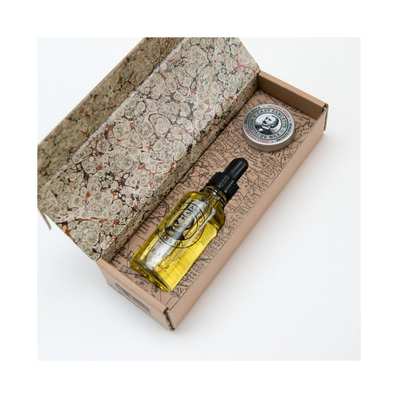 "Coffret Cadeau ""Private Stock"" - Captain Fawcett"
