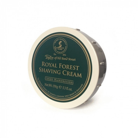 "Crème à raser ""Royal Forest"" en bol - Taylor"