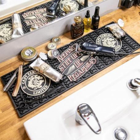Tapis en caoutchouc pour barbier - Captain Fawcett